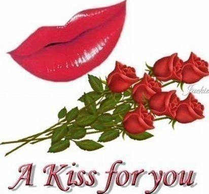 a kiss for you