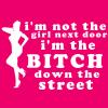 I'm not the girl next dor