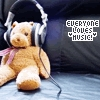 everyone loves music!