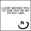 I just moved you to the top of my to-do list