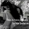 to not believe