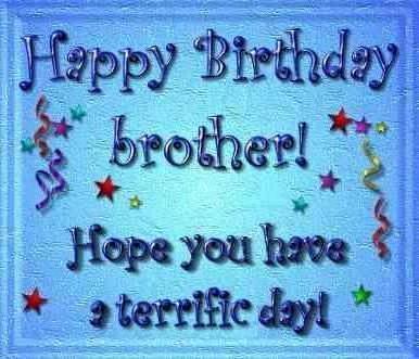 Happy Birthday Brother