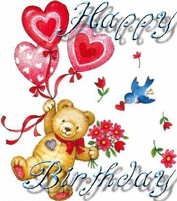 Happy Birthday Teddybear