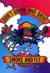 don't drink and drive ... smoke and fly
