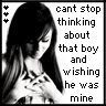 cant stop thinking about that boy and wishing he was mine