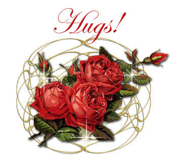 Hugs Red Roses