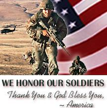 Honoring Our Soldiers