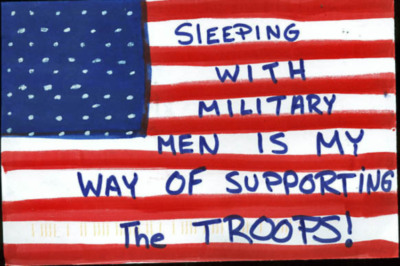 sleeping with military men is my way of supporting the troops