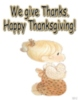 Precious Moments - Happy Thanksgiving