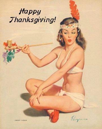 Thanksgiving Pinup