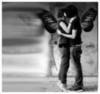 emo couple butterflies