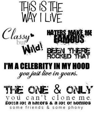 This Is The Way I Live