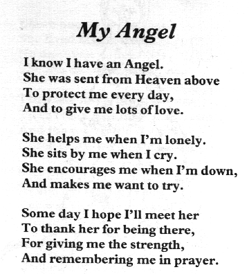 angel poem