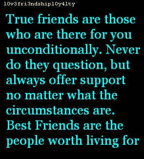 Best Friends Are The People Worth Living For