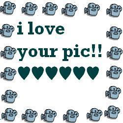 i love your pic