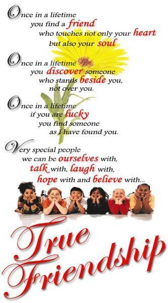 Very Special People - True Friendship