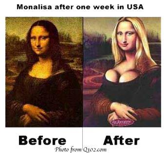 Monalisa in USA