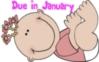Cartoon Baby Girl- Due in Janu..