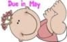 Cartoon Baby Girl- Due in May