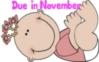 Cartoon Baby Girl- Due in Nove..
