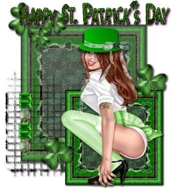 St. Patricks Day Pinup