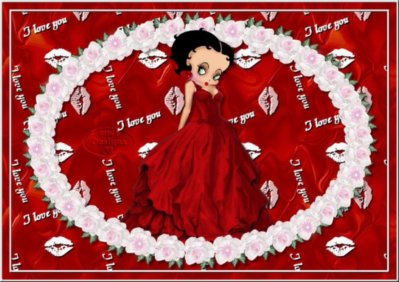I love you, with Betty Boop