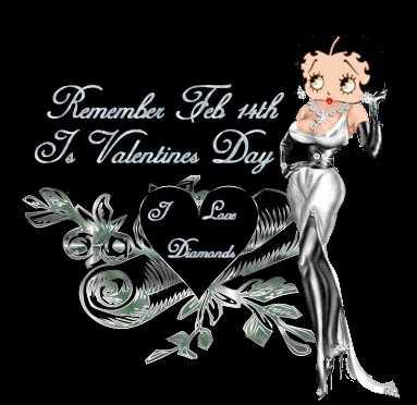 Valentines's Day Betty Boop