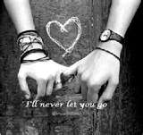 Will never let you go