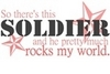 Soldier Rocks my world