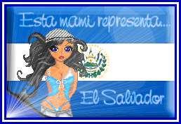 Esta Mami Representa El Salvador