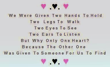 Why only one heart love