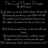 The Coal Miners Prayer by w.calvert