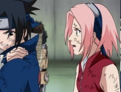 sasuke vs sakura