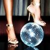 disco  ball & high heels