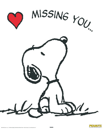 Missing You... -- Snoopy