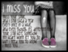 i miss you emo