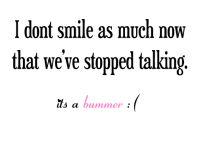 I dont smile