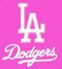 LA Dodgers Pink