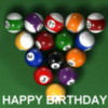 HAPPY BIRTHDAY BILLARD
