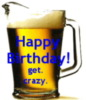 Happy Birthday Beer Pitcher