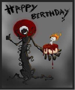 goth happy birthday