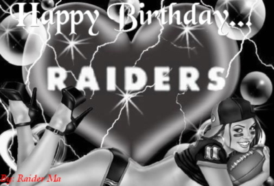Raider Birthday Wish