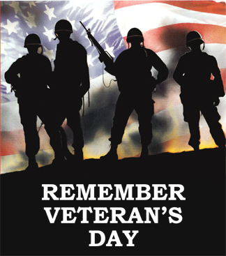 remember veterans day!