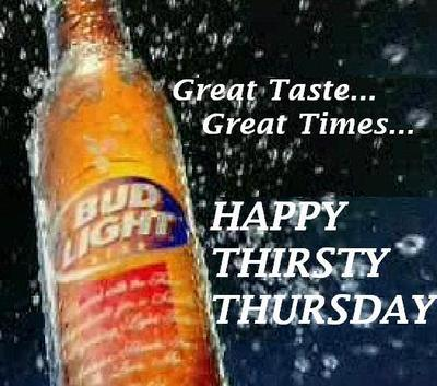 Happy Thirsty Thursday