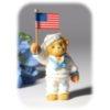 navy bear w- flag
