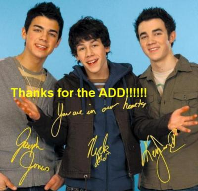 Jonas Brothers Thanks for the ..