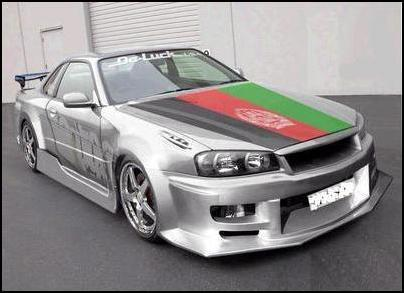 AFGhan car