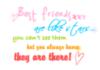 Best friend are like stars. Yo..