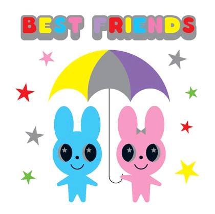 best friends bunny